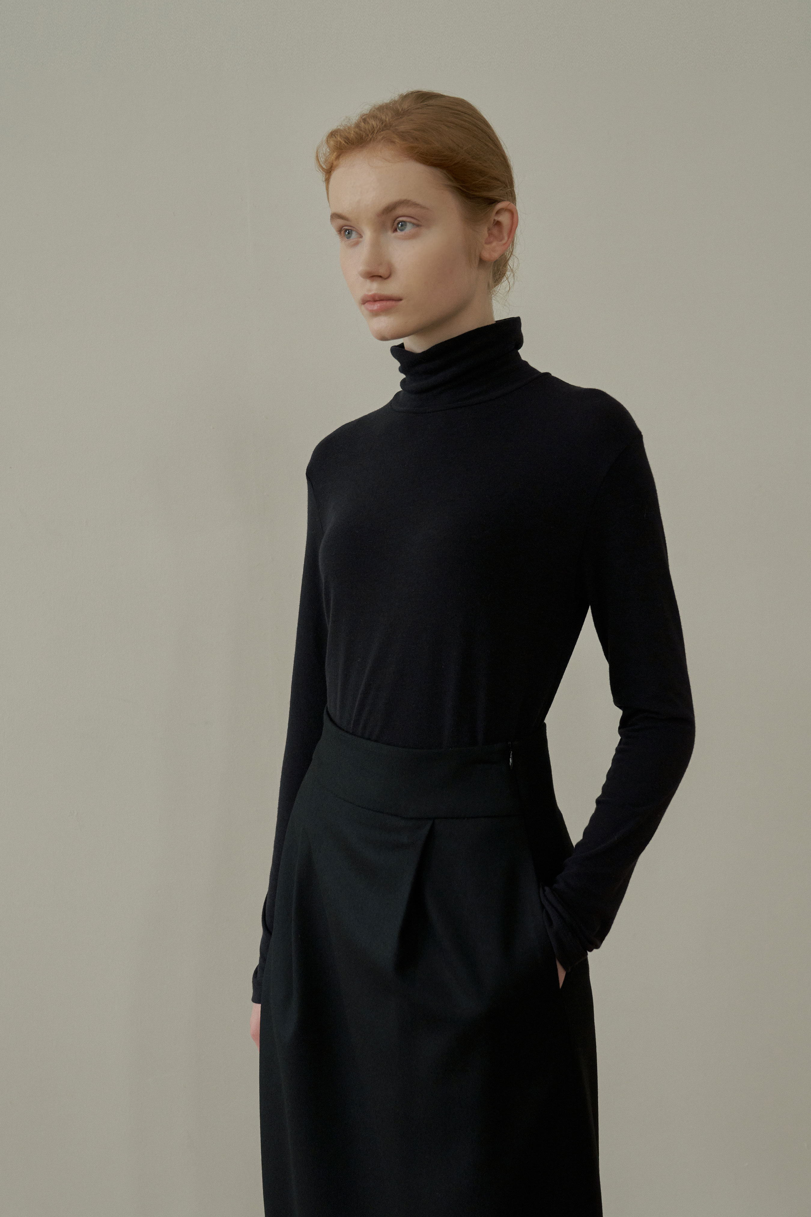 WOOL POLO NECK2nd Re-order Open