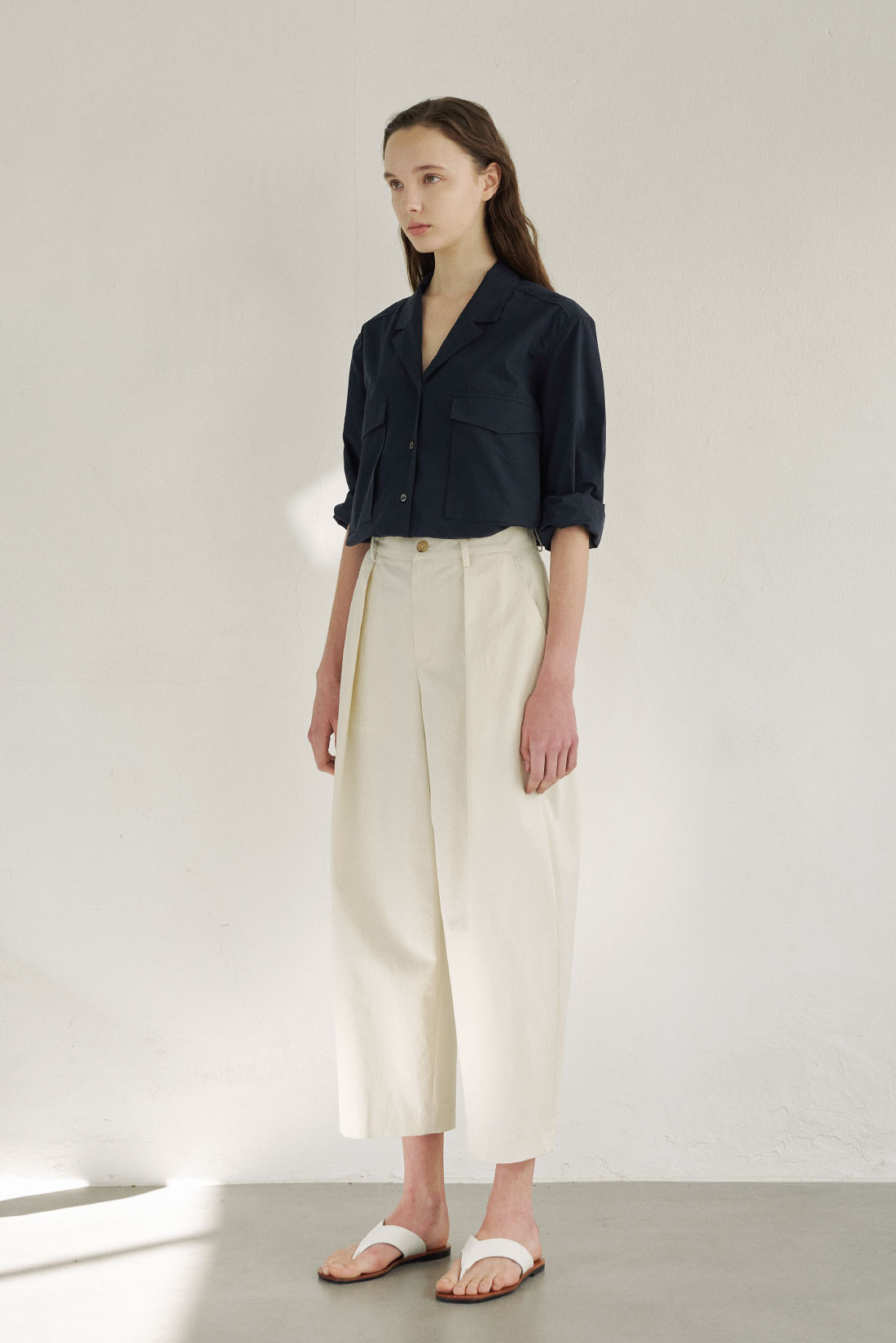 Structure Pants(ivory)